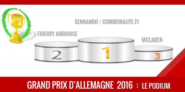Allemagne 2016, Vainqueur Sennando