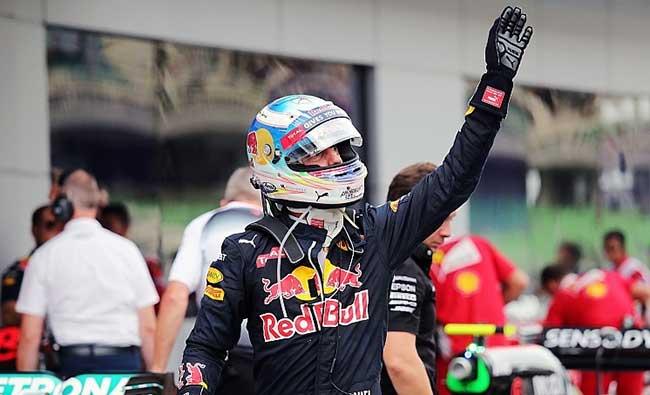 Podium du Grand Prix de Malaisie 2016