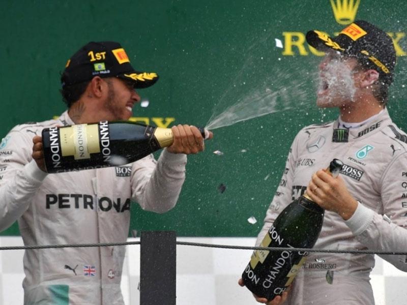 Podium Grand Prix du Brésil 2016