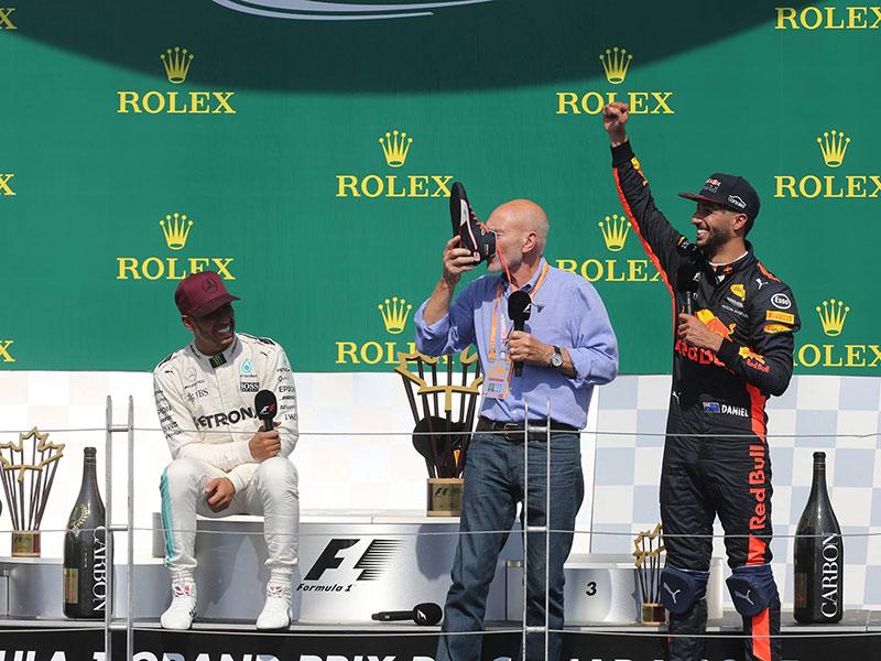 Lewis Hamilton (Mercedes AMG) vainqueur du Grand Prix du Canada 2017