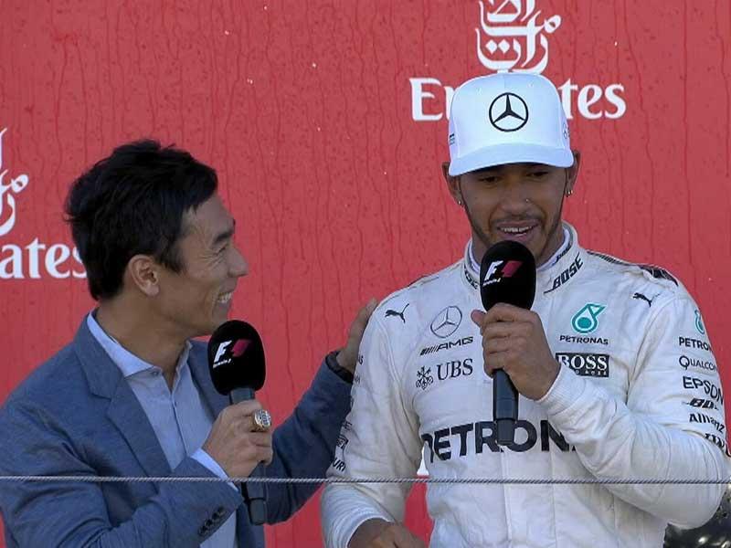 Lewis Hamilton (Mercedes AMG) vainqueur du Grand Prix du Japon 2017