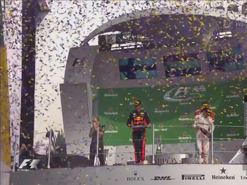 Max Verstappen (Red Bull Racing) vainqueur du Grand Prix du Mexique 2017