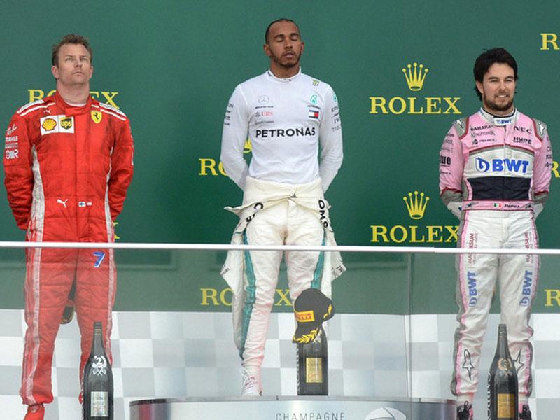 Lewis Hamilton (Mercedes AMG) vainqueur du Grand Prix d'Azerbaïdjan 2018