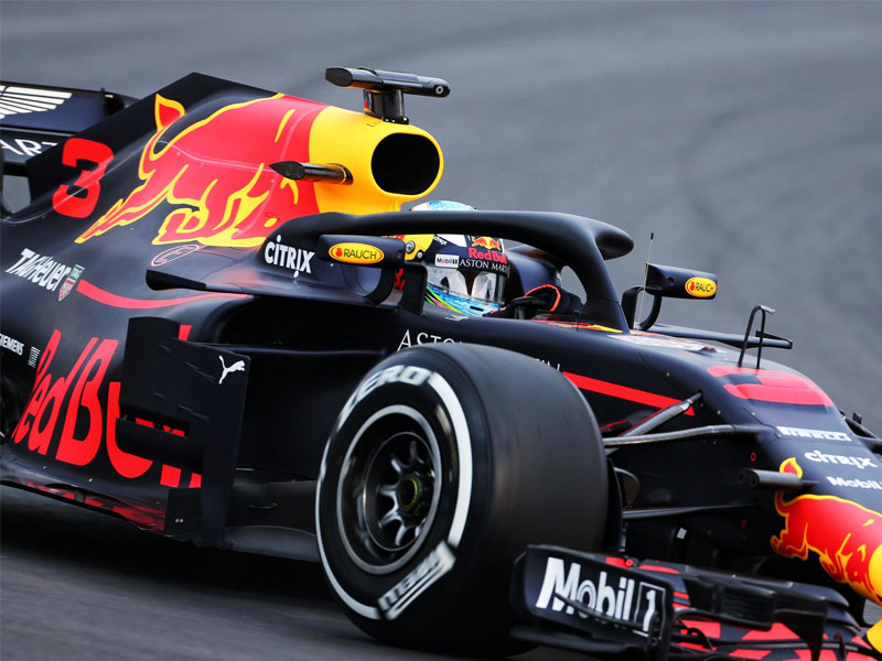 Daniel Ricciardo (Red Bull Racing) en pole position lors du Grand Prix de Monaco 2018