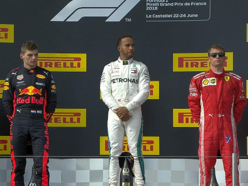Lewis Hamilton (Mercedes AMG) vainqueur du Grand Prix de France 2018