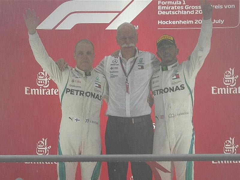 Lewis Hamilton (Mercedes AMG) vainqueur du Grand Prix d'Allemagne 2018