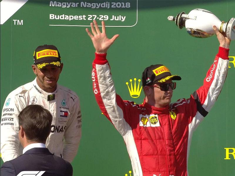 Lewis Hamilton (Mercedes AMG) vainqueur du Grand Prix de Hongrie 2018