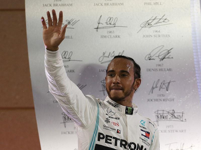 Lewis Hamilton (Mercedes AMG) vainqueur du Grand Prix de Bahrain 2019