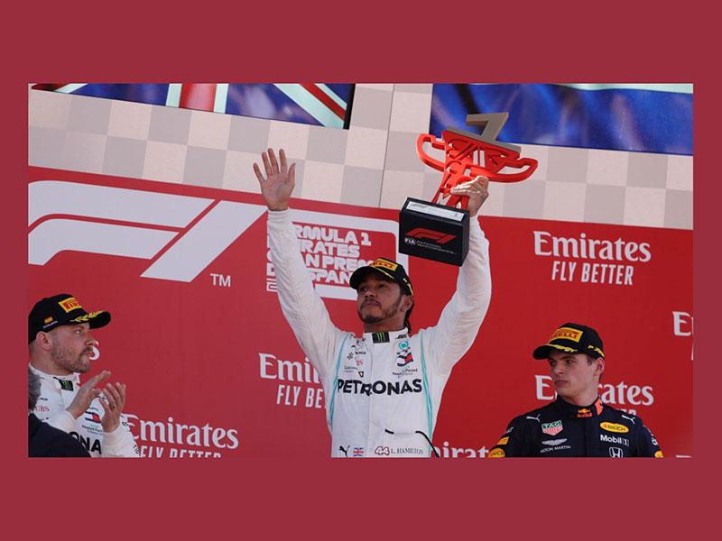 Lewis Hamilton (Mercedes AMG) vainqueur du Grand Prix d'Espagne 2019