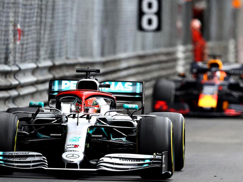 Lewis Hamilton (Mercedes AMG) vainqueur du Grand Prix de Monaco 2019