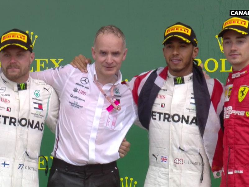 Lewis Hamilton (Mercedes AMG) vainqueur du Grand Prix d'Angleterre 2019