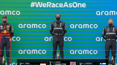 Lewis Hamilton (Mercedes AMG) vainqueur du Grand Prix de Hongrie 2020