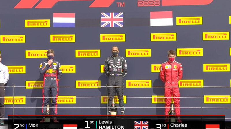 Lewis Hamilton (Mercedes AMG) vainqueur du Grand Prix de Grande-Bretagne 2020