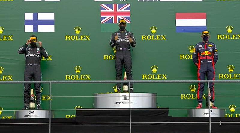 Lewis Hamilton (Mercedes AMG) vainqueur du Grand Prix de Belgique 2020