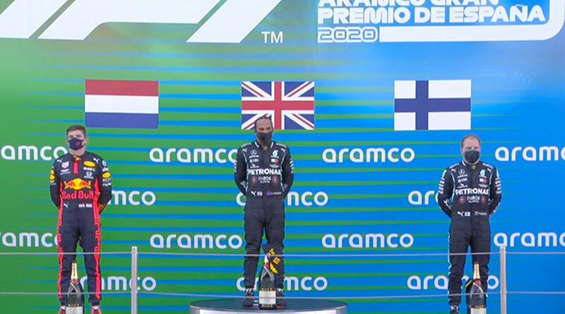 Lewis Hamilton (Mercedes AMG) vainqueur du Grand Prix d'Espagne 2020