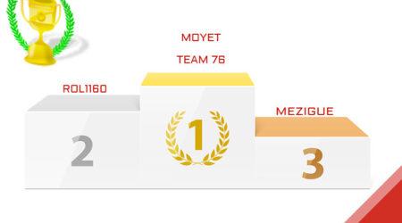 Moyet, vainqueur du Grand Prix du 70E Anniversaire 2020