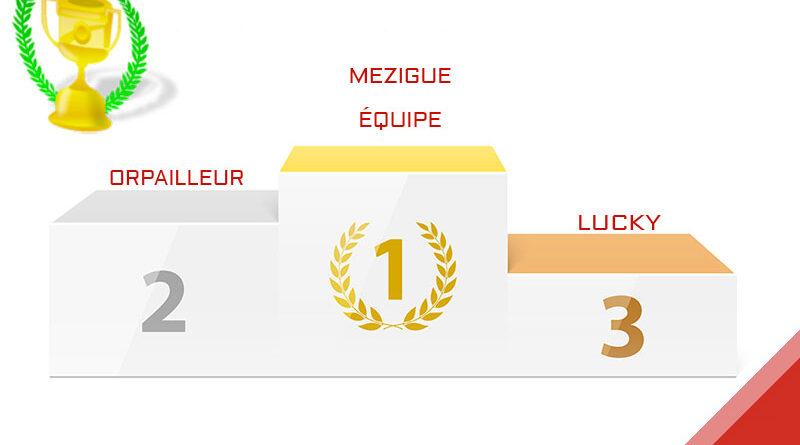 mezigue, vainqueur du Grand Prix de Belgique 2020