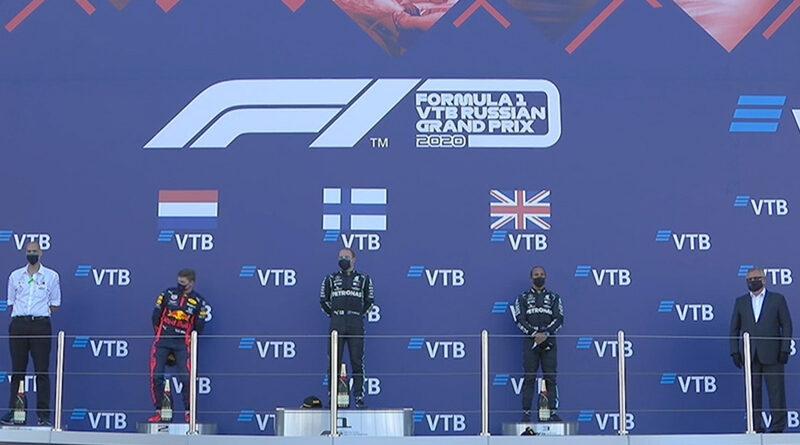 Valtteri Bottas (Mercedes AMG) vainqueur du Grand Prix de Russie 2020