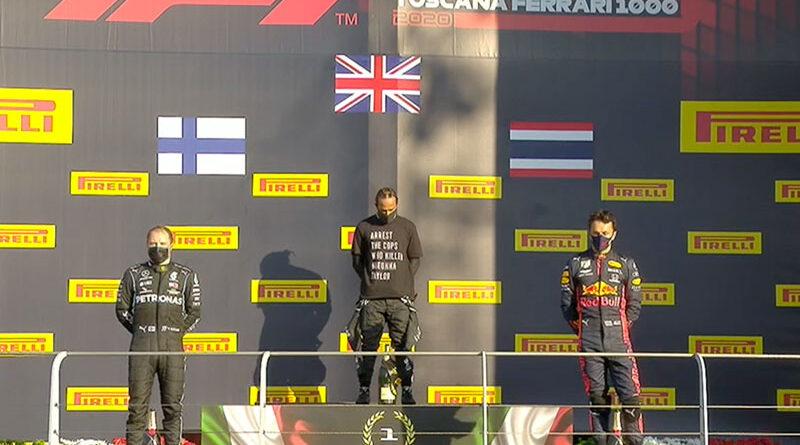 Lewis Hamilton (Mercedes AMG) vainqueur du Grand Prix de Toscane 2020