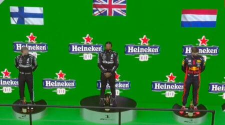 Lewis Hamilton (Mercedes AMG) vainqueur du Grand Prix du Portugal 2020