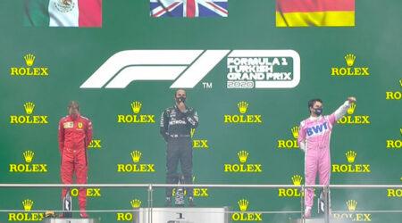 Lewis Hamilton (Mercedes AMG) vainqueur du Grand Prix de Turquie 2020