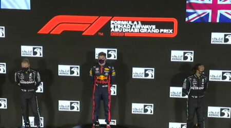 Max Verstappen (Aston Martin Red Bull Racing) vainqueur du Grand Prix d'Abou Dhabi 2020