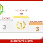 GP ABU 2020 : LE GRAND VAINQUEUR EST YANNTHOMAS