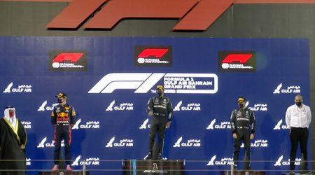 Lewis Hamilton (Mercedes AMG) vainqueur du Grand Prix de Bahrain 2021