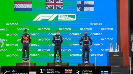 Lewis Hamilton (Mercedes AMG) vainqueur du Grand Prix d'Espagne 2021