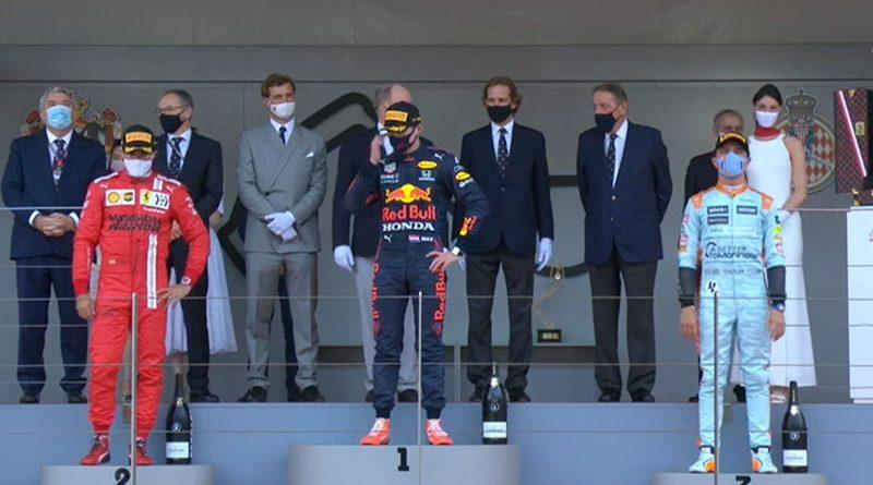 Max Verstappen (Red Bull Racing) vainqueur du Grand Prix de Monaco 2021