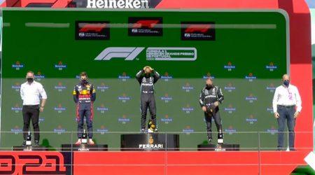 Lewis Hamilton (Mercedes AMG) vainqueur du Grand Prix du Portugal 2021