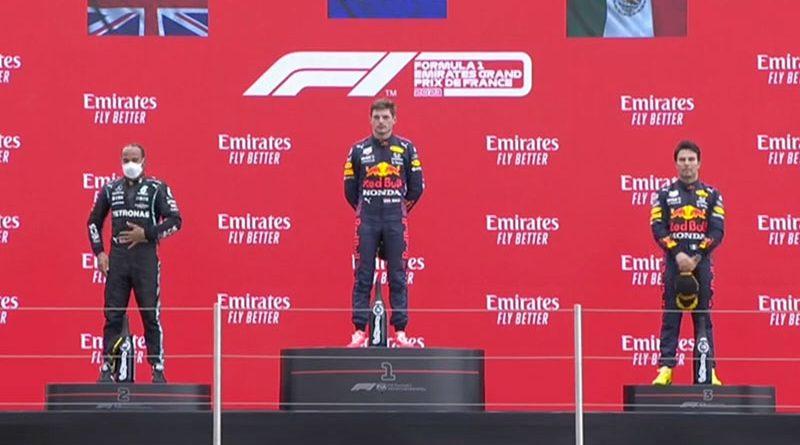Max Verstappen (Red Bull Racing) vainqueur du Grand Prix de France 2021