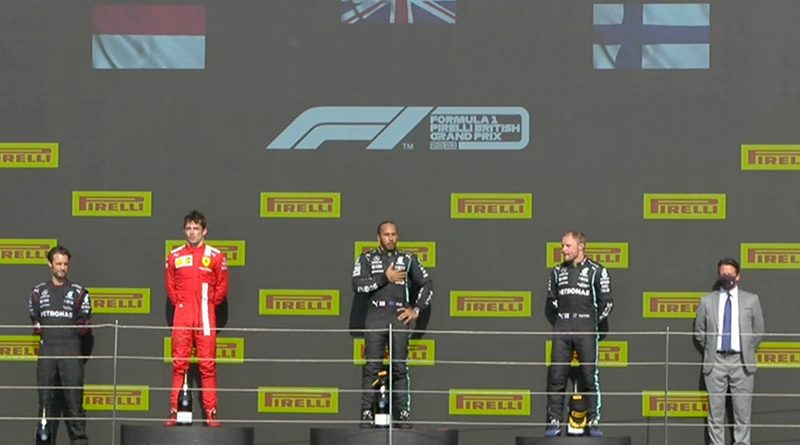 Lewis Hamilton (Mercedes AMG) vainqueur du Grand Prix de Grande-Bretagne 2021