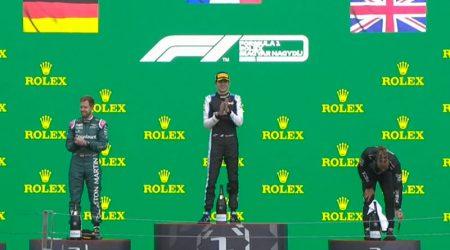 Esteban Ocon (Alpine F1 Team) vainqueur du Grand Prix de Hongrie 2021