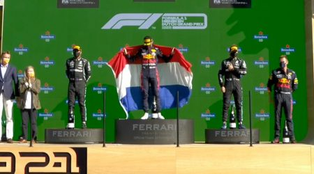 Max Verstappen (Red Bull Racing) vainqueur du Grand Prix des Pays-Bas 2021